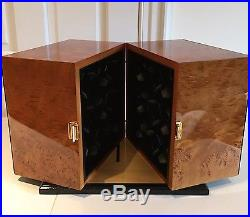 $28,000 Burl Wood Scatola del Tempo Watch Winder 18RT RA