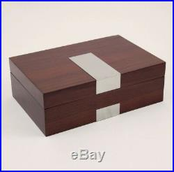 8 Watches Case Jewelry Storage Holder Display Space Saver Wooden Box Gift NEW