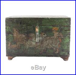ABC Carpet And Home Wooden indian jewelry Box