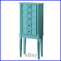 ACME Tammy Jewelry Armoire in Light Blue