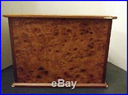 AGRESTRI WOODEN JEWELRY BOX No Key, MADE IN ITALY Used