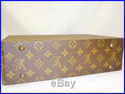 Authentic Louis Vuitton Jewellery Case Hard Trunk Box