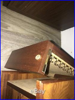 Agresti Briarwood 4 drawer Jewelry Chest Made in Italy
