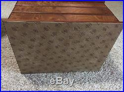 Agresti Jewelry Box, MADE IN ITALY Hand Crafted Briarwood