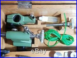 Andrä & Zwingenberg watchmakers Jewelry lathe with accessories in wooden box