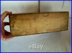 Antique Victorian Wooden Boxes Matching glove and jewellery box with keys