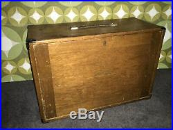 Antique/Vintage Gorgeous Wooden Cabinet With Lots Of Drawer Space