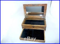 Australian Marri timber Jewellery box Hand-made