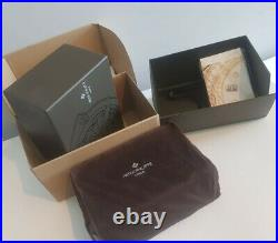 BRAND NEW COMPLETE PATEK PHILIPPE Large Wooden Watch Box Jewelry Case, Manual&Acc