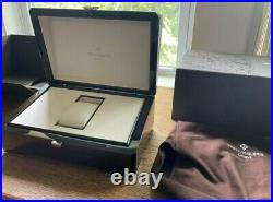 BRAND NEW PATEK PHILIPPE Large Wooden Watch Box Jewelry Case & Collection Book