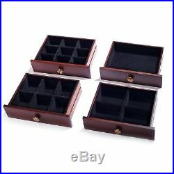 Beautiful Rowling Extra Large Wooden Jewelry Box/Jewel Case Cabinet With Lock