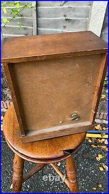 Beautiful Vintage Wooden Musical Chest Jewellery Box With Draws (C1)