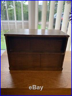 Beautiful old wooden box with drawers and doors Used for jewellery Vintage