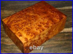Big Wooden Jewelry BoxOnly One Unique PieceLarge Jewelry Box Hand-Crafted From