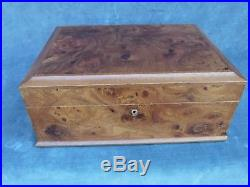 Briarwood Jewelry Box Hand Crafted Florence Italy 12