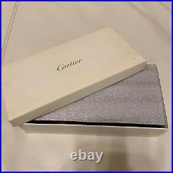 Cartier Jewelry Wooden Box Watch Accessory Case with Loupe Unused