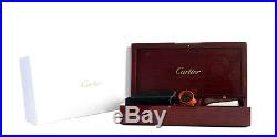 Cartier Wood Box Jewelry Watch Case Rare With Accessories and Box