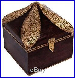 Christmas Thanksgiving Gifts Vintage Wooden Chest Keepsake Jewelry Trinket Box