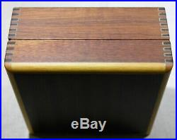 Eberhard & Co. Vintage wooden watch box for Chrono 4 models