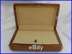 Egyptian Mother of Pearl Wooden Inlaid Jewelry Box 10.5 X 6.5