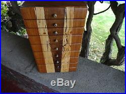 Elegant Hand Crafted Jewelry Box By Steve Perle Craftsman Nice