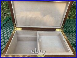 Ercolano Lucilla Large Wooden Jewellery Box Withkeys