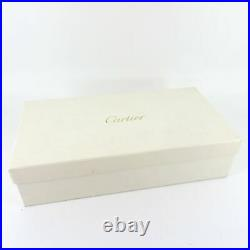 Genuine Cartier Watch Box Jewellery Wooden Loupe Pouch & Cloth