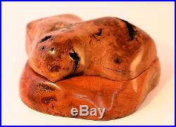 Hand-made Heirloom Wooden Jewellery Box Mallee and Myrtle Burl