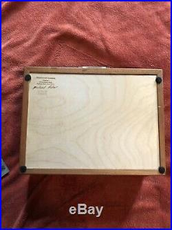 Heartwood Creations Wooden Jewelry Box Sierra Collection Exquisitely Crafted