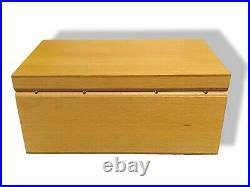 Hermes Home Complete Wooden Care Box for Cleaning Jewelry in Gold, Silver, NEW