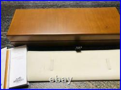 Hermes accessories jewelry watch wooden box case