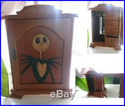 JUN Planning Nightmare Before Christmas Jewelry Music Box Jack Wooden Limited