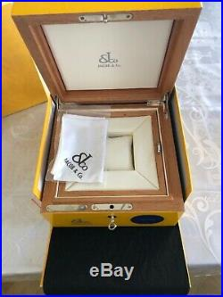 Jacob & Co. Very Special Wooden Box For Watch And Jewellery