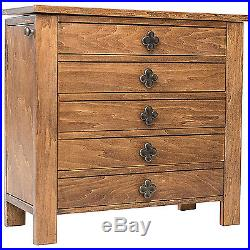 Jewelry Armoire Storage Drawers Cabinet Box Necklace Hooks Organizer Wood Stand
