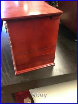Jewelry Box For your Ease Only by Lori Greiner Large Wooden Wood Organizer