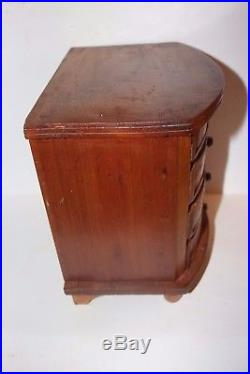 Jewelry Chest with drawers trinket collections antique original handmade wood