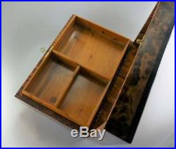 Jewelry organizer Lockable lid Mosaic thuya wooden box, inlaid mother of pearl