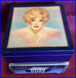 Mary Kay Impossible Dream Linden Wooden Musical Jewelry Box