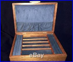 Michael Fisher HEARTWOOD CREATIONS USA-handcrafted JEWELRY BOX'Cascade II' 2