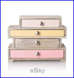 Oliver Bonas Betsy Four Drawer Jewellery Box Drawers