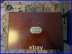 Piffers Khyber-Pass 1880 British Flag Wooden Jewelry Collectible Box