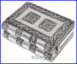 Rakhi Gift For Sister Antique Jewelry Trinket Box Organizer Small Wooden Chest