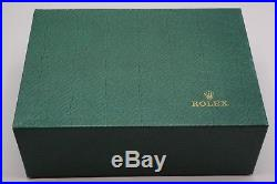 Rare Rolex Large 11 Wood & Jewelry Box Only, 76.00.2