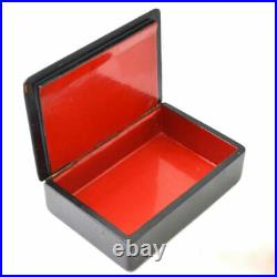 Russian Soviet rare vintage wooden jewelry box hand-painted Artist USSR
