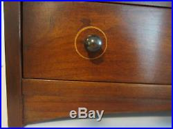 STICKLEY Harvey Ellis Contemporary Era Solid Cherry Jewelry Box MINT Made in USA