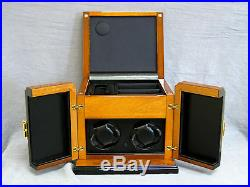 Scatola Del Tempo Watch Winder/Jewelry box New Made in Italy! MSRP $4,350