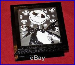 Tim Burtons The Nightmare Before Christmas Jack Skellington Wooden Jewelry Box