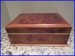 Vintage Agresti Briarwood Jewelry Box/Chest-Made in Italy