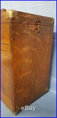 Vintage H. GERSTNER & SONS WOODEN JEWELRY TOOL MACHINIST CHEST Box 11 Drawer
