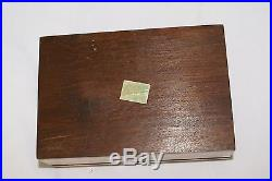 Vintage Morpho Brazil Real Butterfly Jewelry Box Inlaid Wood Estate Find (2)